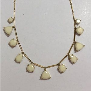 Kate spade white and gold necklace